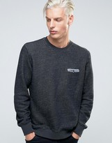 Sisley Textured Sweat with Pocket Detail