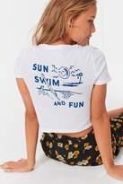 Future State Sun + Swim Cropped Tee