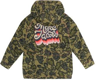 Little Marc Jacobs Appliqued stretch cotton jacket