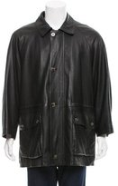 Loro Piana Cashmere-Lined Leather Jacket