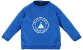 Petit Bateau Blue Boat Print Sweater