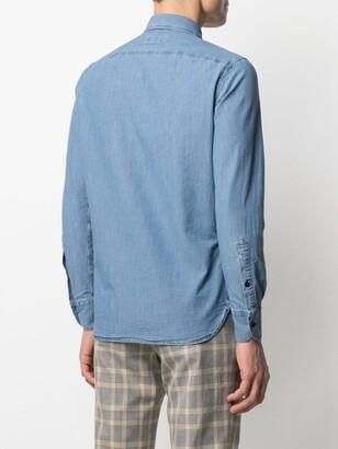 Glanshirt Button-Up Denim Shirt