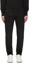 Diesel Black Distressed Tepphar Jeans