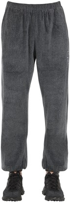 Applecore Velvet Sweatpants