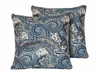 Posner Canora Grey Paisley Square Outdoor Throw Pillow Canora Grey