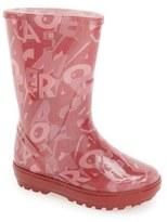 Salvatore Ferragamo Toddler Girl's 'Nemo' Rain Boot