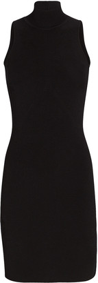 Cushnie Floral Jacquard Knit Mini Dress