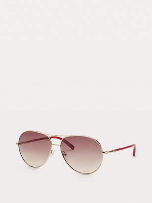 Diane von Furstenberg Sallie Aviator Sunglasses