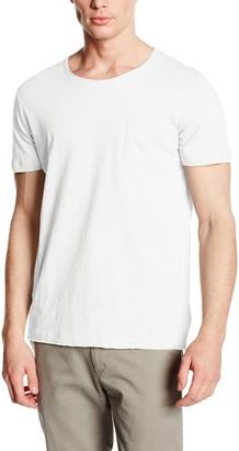 Stedman Apparel Men's Shawn Oversized Slub Crew Neck Plain Short Sleeve T-Shirt