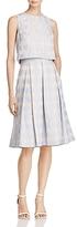Eliza J Two-Piece Grid Dress