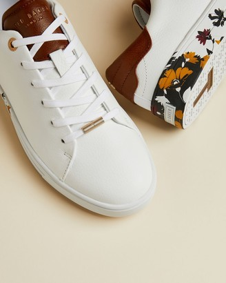 Ted Baker Savanna Printed Sole Trainers