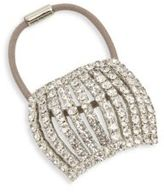 Jennifer Behr Chiara Crystal Pave Ponytail Holder