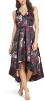 Eliza J Women's Belted Print High/low Party Dress
