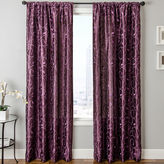 JCPenney SOFTLINE HOME FASHIONS Sedro Scroll Faux-Silk Rod-Pocket Curtain Panel