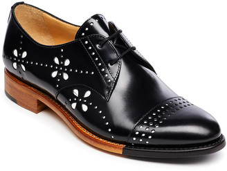 The Office of Angela Scott Mr. Ava Perforated Derby Oxfords