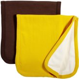 Baby Soy Oh Soy Burp Cloths Set - Cocoa & Sunshine - 2 ct
