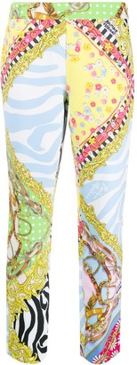 Boutique Moschino Printed High-Waisted Trousers