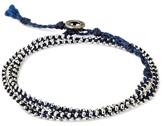"""Wakami Women's Bracelet 3 Wrap - Blue (22"""")"""