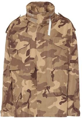 Reebok x Victoria Beckham Camo cotton twill jacket