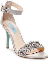 Betsey Johnson Gina Rhinestone Sandals
