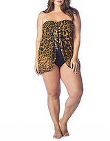 Polo Ralph Lauren Lauren by Ralph Lauren Plus Leopard Flyaway One Piece