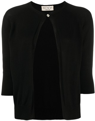 Ma Ry Ya 3/4 Sleeve Cotton Cardigan