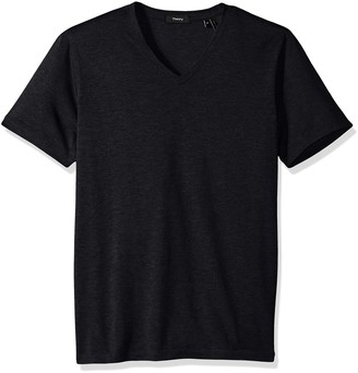 Theory Men's Claey V Plaito Dressy V Neck T Shirt