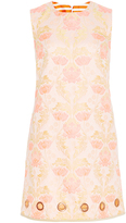 Clover Canyon Floral Jacquard Sleeveless Dress