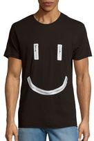 Diesel Zippered Smiley Tee