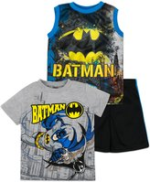 Warner Bros. Batman Shirt, Tank Top and Shorts Set - Toddler/ Little Boys