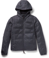 Giorgio Armani - Storm System® Wool And Cashmere-blend Hooded Down Jacket