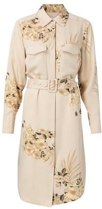 Ya-Ya Desert Sand Floral Dress - EU34 UK6