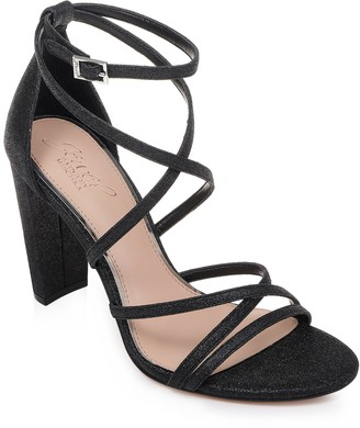 Badgley Mischka Diora Glitter Sandal