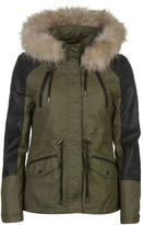 Firetrap Blackseal Short Parka Jacket