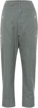 Etoile Isabel Marant Raluniae high-rise cotton pants