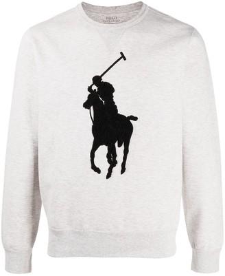 Polo Ralph Lauren Logo-Patch Sweatshirt
