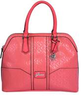GUESS Signature Dancing Dome Satchel Crossbody Bag Handbag Purse