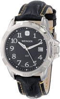 Wenger Men's GST 78235 Leather Quartz Watch with Dial