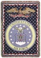 U.S. Air Force triple-layer throw