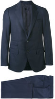 Caruso two piece suit - men - Cupro/Wool/Bemberg - 48