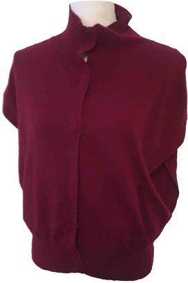 Bel Air Burgundy Cashmere Knitwear for Women