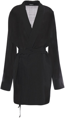 Ann Demeulemeester Wool-blend Robe
