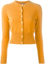 N.Peal cashmere cropped cardigan