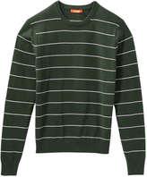 Joe Fresh Men's Stripe Pullover, Navy (Size XXL)