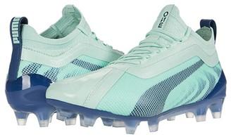 Puma One 20.1 FG/AG (Mist Green/High-Rise/Dark Denim) Women's Soccer Shoes