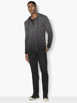 John Varvatos Degrade Zipped Hoodie