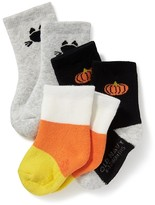 Old Navy Halloween-Printed Crew Socks for Baby