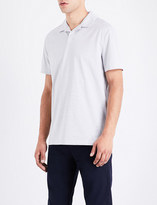 Michael Kors Open-collar cotton-jersey polo shirt