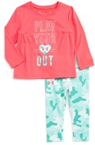 Under Armour Infant Girl's Play Your Heart Out Tee & Leggings Set