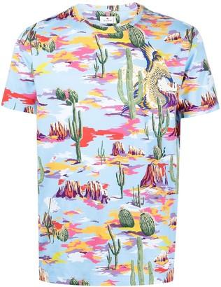 Etro graphic-print T-shirt